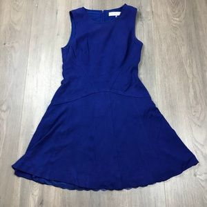 Trina Turk Cobalt Blue Sleeveless A Line Dress 4